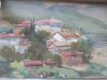 Крымский пейзаж, х-к Басов, фото №10