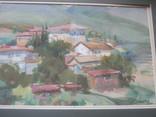 Крымский пейзаж, х-к Басов, фото №12