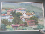 Крымский пейзаж, х-к Басов, фото №13