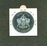 Парусники, 10$ остров Сент-Люсия 1982 года, фото №3