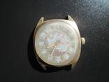 Часы Ракета 24 часа САЭ , Советская Антарктическая Экспедиция позолота photo 2