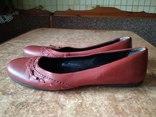 Шкіряні туфлі - балетки р.40 Dorothy Perkins