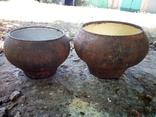 Два казанка-чугунка ( интерьерные)., фото №2