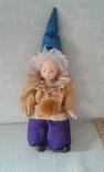 Фарфоровый кукла-клоун 60-70 г.г.  Германия., фото №2