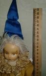 Фарфоровый кукла-клоун 60-70 г.г.  Германия., фото №8