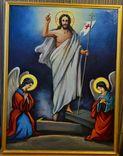 """Храмовая икона """"Воскресение Господне"""", размер 87х67"""