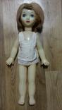 Кукла советская 55 см,паричковая,на резинках