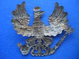 Орел з пікельгельму пруської лінійної піхоти 19-20ст. photo 2