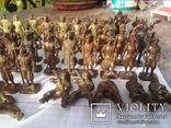 Коллекци солтатиков из киндеров 60шт, фото №5