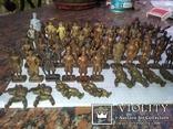 Коллекци солтатиков из киндеров 60шт, фото №12