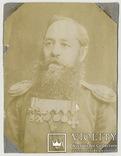 Обер-офицер с боевыми наградами за Русско-турецкую войну, медаль за Крымскую войну., фото 1