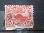 Британская Канада 1859 гаш фауна, фото №2
