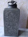 Коллекционный старинный сосуд фляга. Клеймо., фото №4