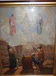 Старинная большая икона в киоте photo 3