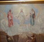 Старинная большая икона в киоте photo 4