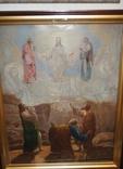 Старинная большая икона в киоте photo 1