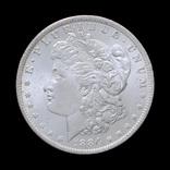 1 Доллар 1884 О Могран, США UNC photo 2