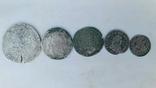 Талер 1636р.+монети срібла photo 2