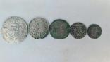 Талер 1636р.+монети срібла photo 1