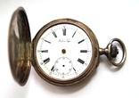 Часы карманные Павел Буре серебро 84 пр. photo 1