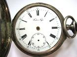 Часы карманные Павел Буре серебро 84 пр. photo 2