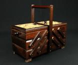 Ящик для шитья и рукоделия. Европа. (0376)