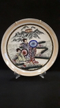 """Настенная тарелка """"Три гейши"""" с держателем., фото №5"""