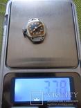 Часы Bulova cеребро 800пр. 17 камней женские, фото №8