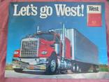 Рельефная табличка сигареты West 53 х 70 см photo 1
