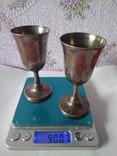 Шесть серебряных рюмок. photo 3