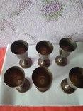 Шесть серебряных рюмок. photo 5