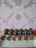 Шесть серебряных рюмок. photo 6