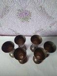 Шесть серебряных рюмок. photo 7