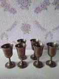 Шесть серебряных рюмок. photo 8