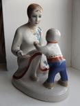 Мать с ребенком +бонус photo 1