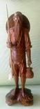 Скульптура японский рыбак 23 см.