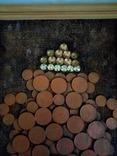 Картина из монет ДЕНЕЖНЫЙ ТАЛИСМАН  АМФОРА., фото №4