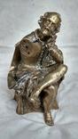 """Статуетка """"Шекспір"""" з бронзи (не комплектна)"""