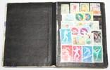 Альбом с марками 281 шт. (от 1960 г.) отечественные и зарубежные photo 2