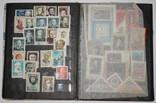 Альбом с марками 281 шт. (от 1960 г.) отечественные и зарубежные photo 3