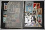 Альбом с марками 281 шт. (от 1960 г.) отечественные и зарубежные photo 4