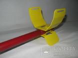 Металлический подлокотник (Garret,X-terra и др.) желтый. photo 1