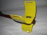 Металлический подлокотник (Garret,X-terra и др.) желтый. photo 2