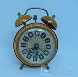 Винатжный коллекционный будильник Dugena Германия.
