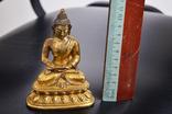 Будда, бронза, позолота