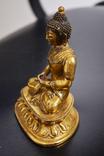 Будда, бронза, позолота photo 3