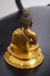 Будда, бронза, позолота photo 4