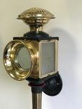 Каретный фонарь. Винтаж. Европа