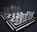 Шахматы Нарды инкрустация ручная работа Европа