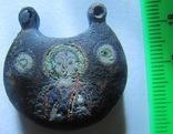 Колт К.Р. с позолотой и перегородчатыми эмалями photo 2